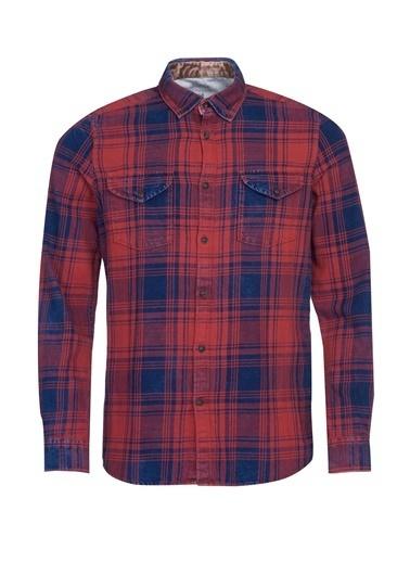 Barbour Randall Western Gömlek Re71 Red Kırmızı